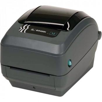 Zebra GX420t Thermal Transfer Printer - Monochrome - Desktop - Label Print