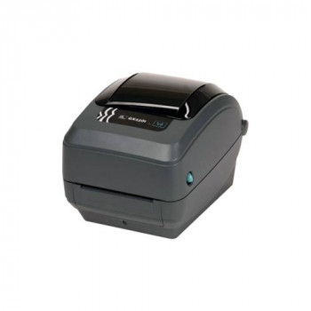 Zebra GX430t Direct Thermal/Thermal Transfer Printer - Monochrome - Desktop - Label Print