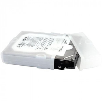 StarTech.com 3.5in Silicone Hard Drive Protector Sleeve with Connector Cap
