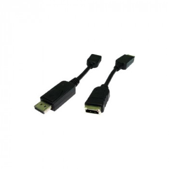 Cables Direct HDHDPORT-005CAB DisplayPort/HDMI A/V Cable for Monitor, TV - 4.50 cm