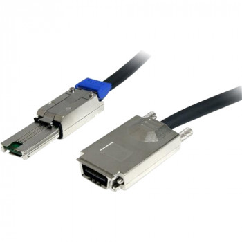 StarTech.com 2m External Serial Attached SCSI SAS Cable - SFF-8470 to SFF-8088