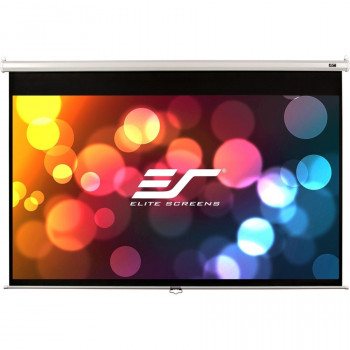 "Elite Screens Manual M94NWX Manual Projection Screen - 238.8 cm (94"") - 16:10 - Wall Mount, Ceiling Mount"