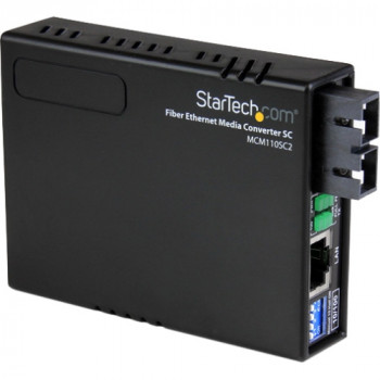 StarTech.com 10/100 Ethernet to Multi Mode Fiber Media Converter SC 2 km