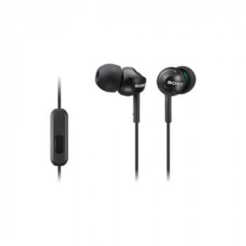 Sony Wired 9 mm Stereo Earset - Earbud - In-ear - Black