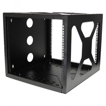 StarTech.com 8U 19in Wall Mount Side Mount Open Frame Rack Cabinet