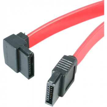 StarTech.com 18in SATA to Left Angle SATA Serial ATA Cable - F/F
