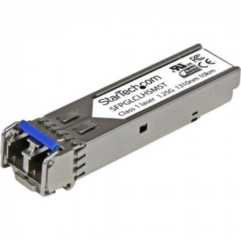 StarTech.com Cisco Compatible Gigabit Fiber SFP Transceiver Module SM LC - 10 km (Mini-GBIC)