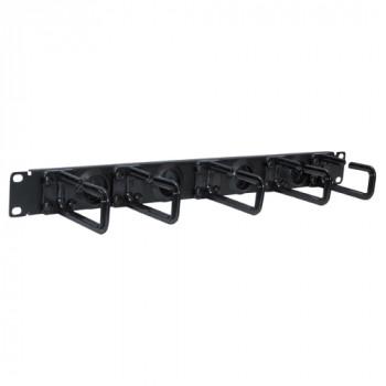 Tripp Lite SRCABLERING1U Cable Panel - Black