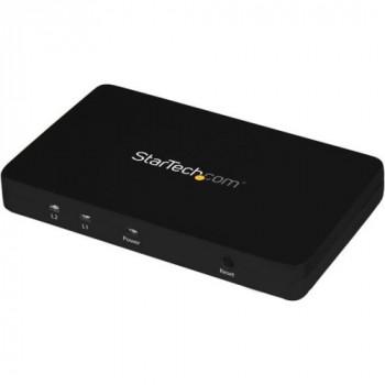 StarTech.com 4K HDMI 2-Port Video Splitter - 1x2 HDMI Splitter w/ Solid Aluminum Housing - 4K 30Hz