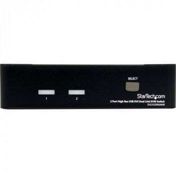 StarTech.com StarTech.com 2 Port High Resolution USB DVI Dual Link KVM Switch with Audio