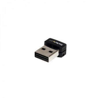 StarTech.com USB 150Mbps Mini Wireless N Network Adapter - 802.11n/g 1T1R