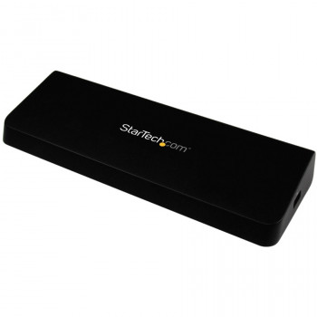 StarTech.com 4K Docking Station for Laptops - DP and HDMI - USB 3.0 - 4K Ultra HD Universal Laptop Dock