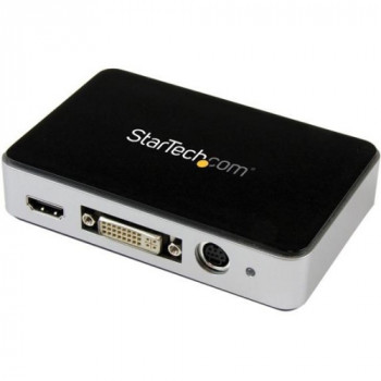 StarTech.com USB 3.0 Video Capture Device - HDMI / DVI / VGA / Component HD Video Recorder - 1080p 60fps