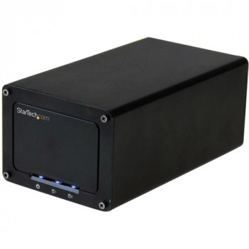 """StarTech.com USB 3.1 (10Gbps) External Enclosure for Dual 2.5"""" SATA Drives - with RAID & UASP"""