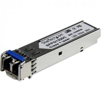 StarTech.com Cisco Compatible Gigabit Fiber SFP Transceiver Module SM LC w/ DDM - 20 km (Mini-GBIC)