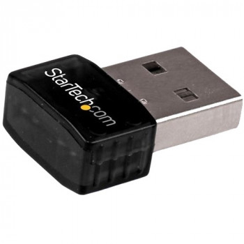 StarTech.com USB 2.0 300 Mbps Mini Wireless-N Network Adapter - 802.11n 2T2R WiFi Adapter