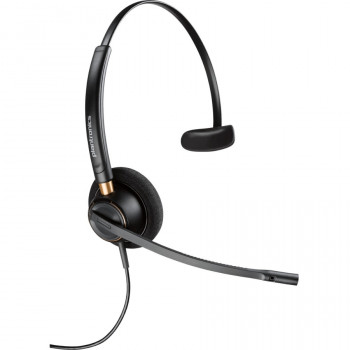 Plantronics EncorePro HW510 Wired Mono Headset - Over-the-head - Supra-aural
