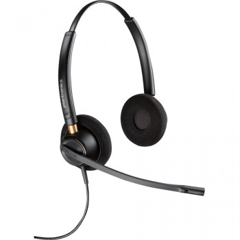 Plantronics EncorePro HW520 Wired Stereo Headset - Over-the-head - Supra-aural