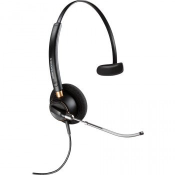 Plantronics EncorePro HW510V Wired Mono Headset - Over-the-head - Supra-aural
