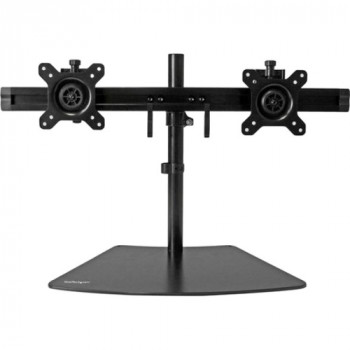 StarTech.com Dual Monitor Stand - Monitor Mount for Two Displays
