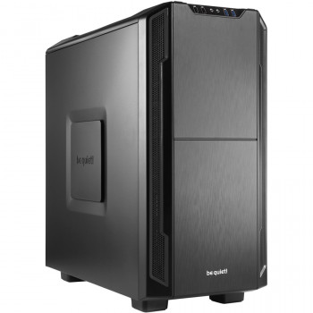 be quiet! Silent Base 600 Computer Case - ATX, Micro ATX, Mini ITX Motherboard Supported - Mid-tower - Steel, Acrylonitrile Butadiene Styrene (ABS), Rubber - Black - 7.84 kg
