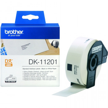 Brother DK11201 Address Label - 29 mm Width x 90 mm Length - 1 / Box