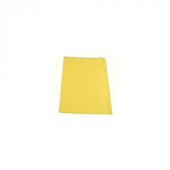 Invo Square Cut Folders Manilla 315gsm Foolscap Yellow Ref 400038524 [Pack 100]