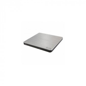 LG (GP60NS60) External Slimline DVD Re-Writer, USB, 8x, Grey, M-Disc Support, Power2Go