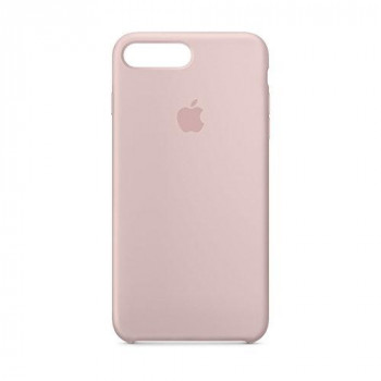 Apple Silicone Case for iPhone 8 Plus/7 Plus - Pink