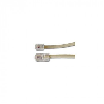 Telephone cord RJ11 to RJ45 White- 5 m