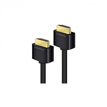 ALOGIC High Speed HDMI Cable with Ethernet Ver 2.0 Male to Male - Carbon Series - 1m - Retail