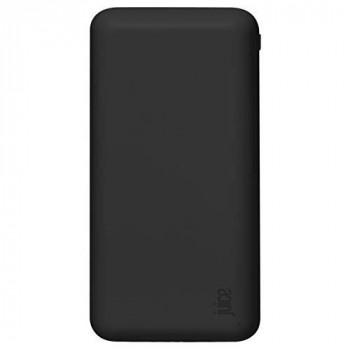 Juice 5 Charges Portable Power Bank, iPhone, Samsung, Huawei, iPad, 15000 mAh, Black