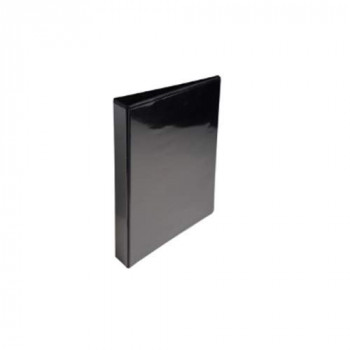 Exacompta 51826NE 25 mm D-Ring Binder - Black (Pack of 10)