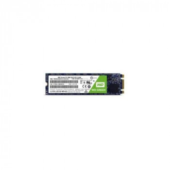 Western Digital WDS480G2G0B WD Green SSD - Solid state drive - 480 GB - internal - M.2 2280 - SATA 6Gb/s:: (Components > SSD Solid State Drive)