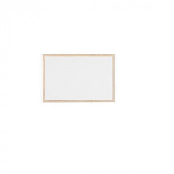 Bi-Office MP03001010 Whiteboard Budget, Wood Frame, 60 x 40 cm