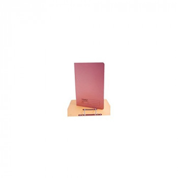 Guildhall 285 gsm Foolscap Spiral File - Pink (Pack of 25)