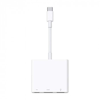 Apple USB-C Digital AV Multi-port Adaptor - White (Latest Model)
