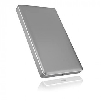 """ICY BOX""""Boitier Externe IB-245-C31-G USB3.1 Type C - 2""""1/2 S-ATA (Argent)"""""""