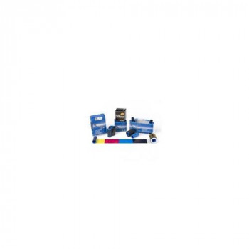 Zebra COLOUR RIBBON for ZXP SERIES 1 1/2 YMCKO 400 IMAGES - 800011-147 (Consumables Printer Ribbons) - s + a