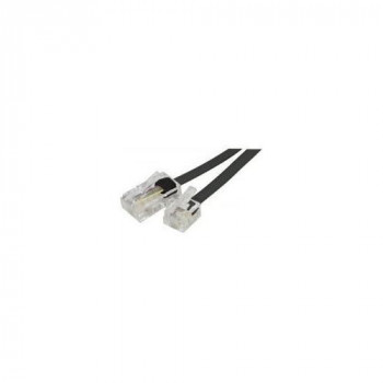 Telephone cord RJ11 to RJ45 Black- 3 m