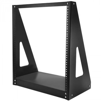 StarTech.com Heavy Duty 2-Post Rack - Open-Frame Server Rack - 12U