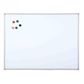 Bi-Office Maya Dry Wipe Plastic Frame Double Sided Whiteboard 60x45cm