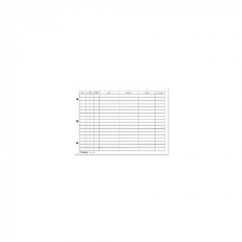 Guildhall Refill for Loose-leaf Visitors Book, 50 Sheets, for T40/R T40/RZ- (00561X)
