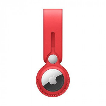 Apple AirTag Leather Loop - (PRODUCT) RED