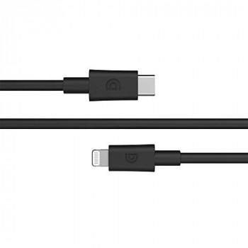 INCIPIO Griffin Extra-long - Lightning cable - USB-C (M) to Lightning (M) - 3 m - black - for Apple iPad/iPhone/iPod (Lightning)