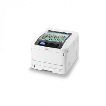 OKI C824n - Printer - colour - LED - A3-1200 x 600 dpi - up to 26 ppm (mono) / up to 26 ppm (colour) - capacity: 400 sheets - USB 2.0, Gigabit LAN, NFC, USB 2.0 host