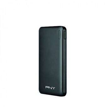 PNY Slim 5000 mAh PowerPack Universal Portable Rechargeable Battery Charger for Smartphone - Black