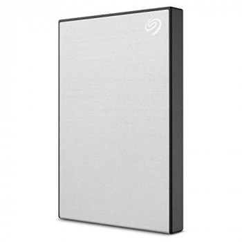 Seagate Backup Plus Slim (2TB) USB 3.0 Portable Hard Drive External (Silver)