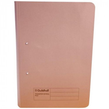 Guildhall 346-BUFZ Concord 22202 Transfer File Foolscap Foolscap, 38 mm - Buff, Box of 25