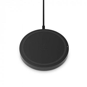 Belkin Boost Up Wireless Charging Pad 5 W, Qi Wireless Charger for iPhone, Samsung, Google, LG, Sony and More (No AC Adapter, Compatible with the Wireless Charging Case for AirPods)